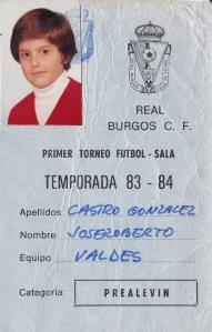 En su época en el Real Burgos