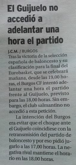 Diario de Burgos 19/09/2.015
