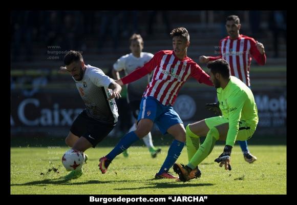 """BURGOS CF 1 - SPORTING """"B"""" 1"""